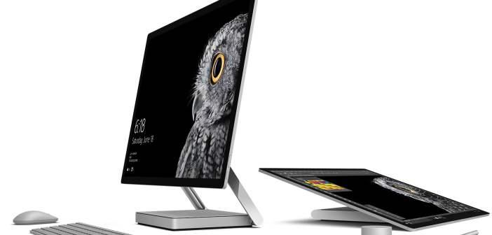 Microsoft Surface Studio - mat. pras producenta