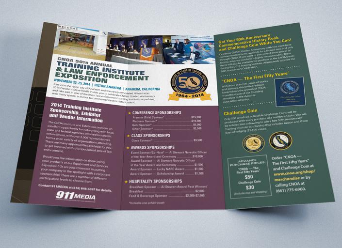 CNOA Conference Tri-fold Brochure - 911MEDIA