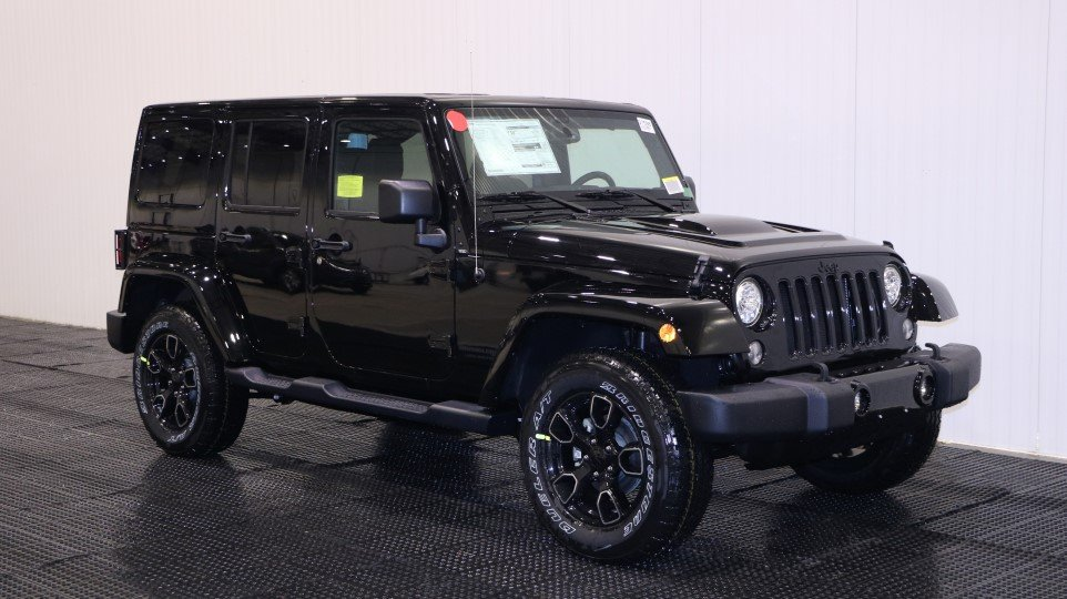 New 2018 Jeep Wrangler Unlimited Altitude Sport Utility In