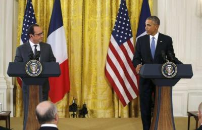 Obama says US, France stand united against Islamic State, terrorism - 92 News HD Plus