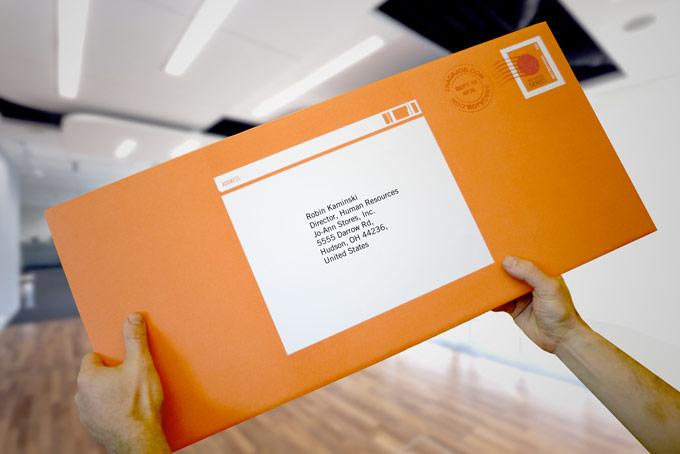 Snag-A-Job - Giant Resume Envelope 93 Octane Advertising Agency