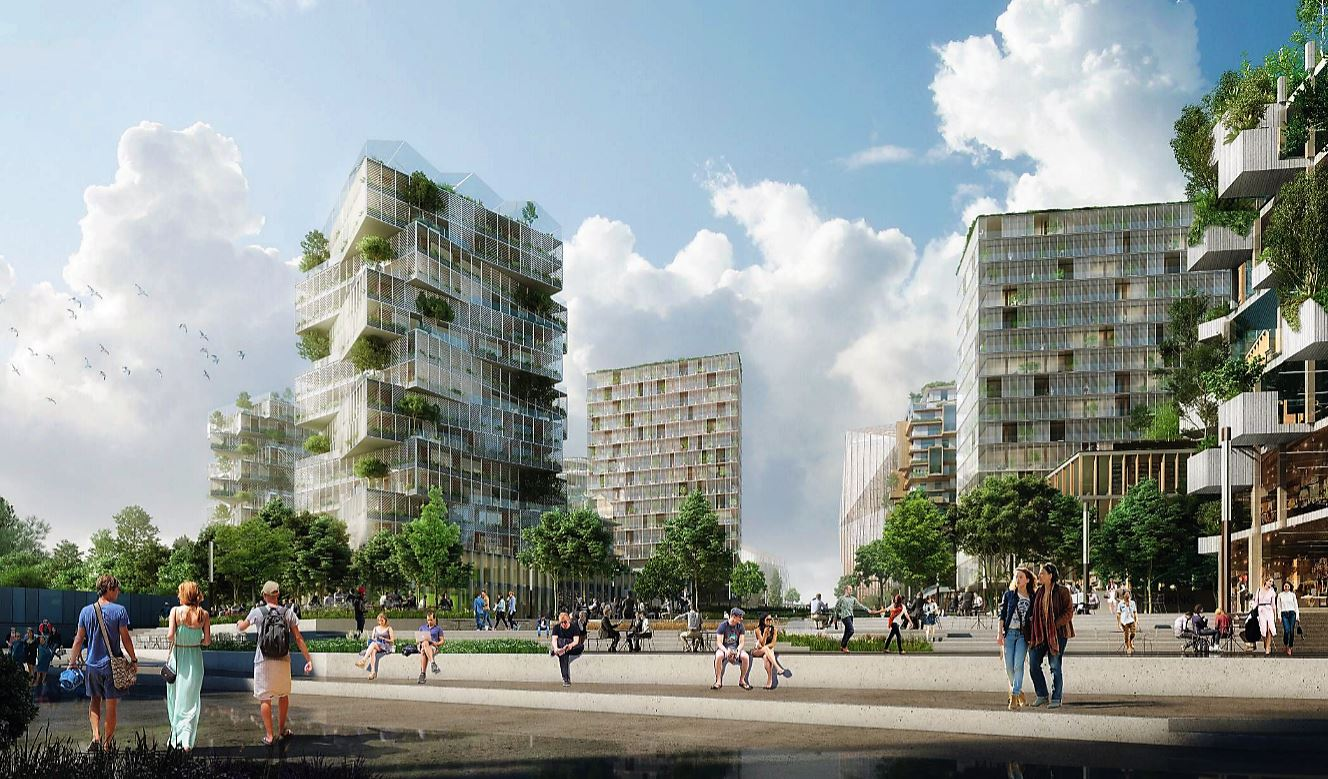 Europe Carrelage Nanterre Paris Projects Construction Page 589 Skyscrapercity