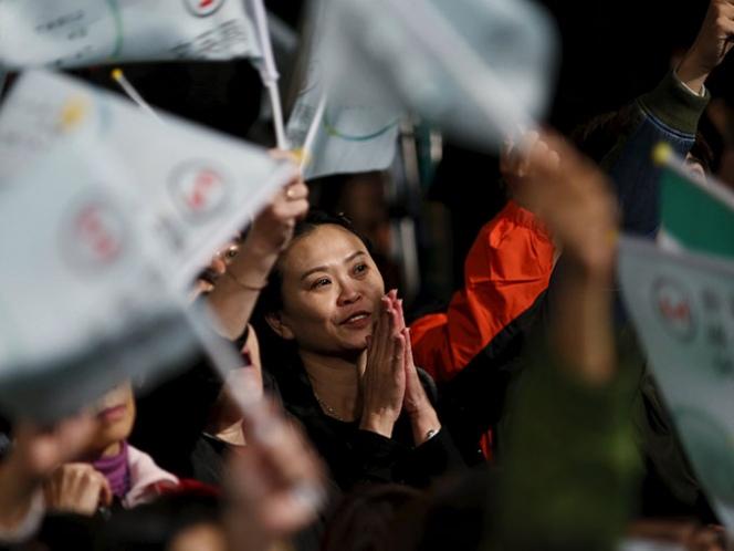 Tsai ganó con más de 56 por ciento de los votos. Foto: Reuters
