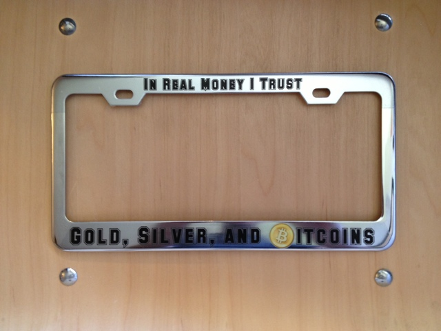 12 Awesome Bitcoin License Plates