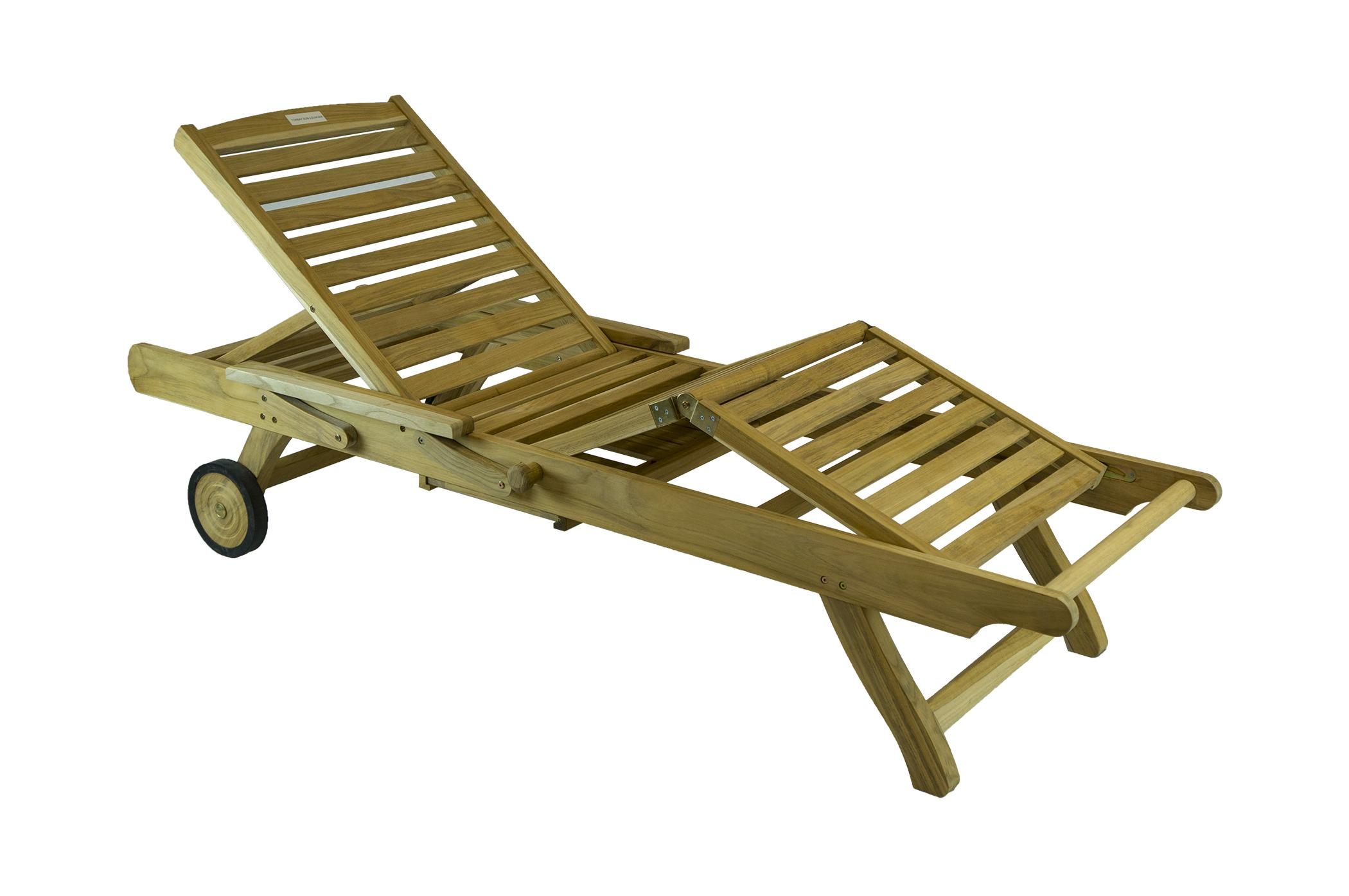 Torbay Teak Furniture Sun Lounger 99cent Floor Store