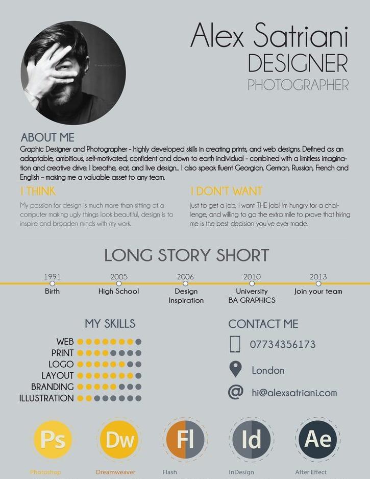 cv designer blog
