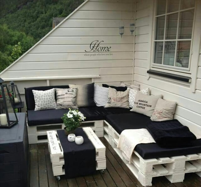 Garten Couch Set 13 Diy Sofas Made From Pallet | 99 Pallets