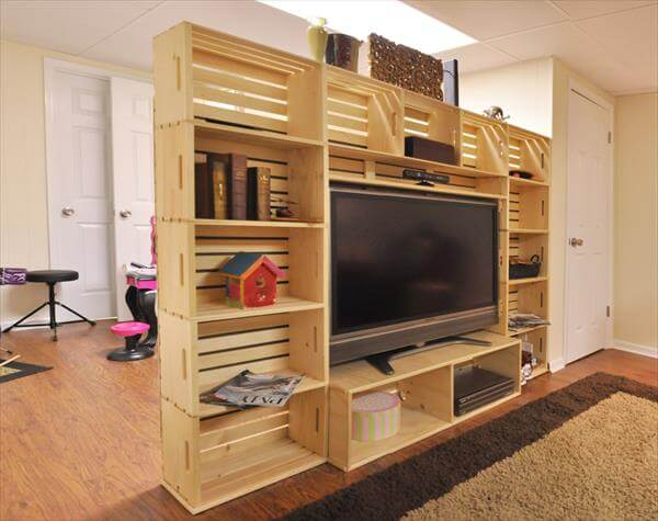 Muebles Con Palets Y Cajones Diy Wooden Crate And Pallet Furniture Projects | 99 Pallets