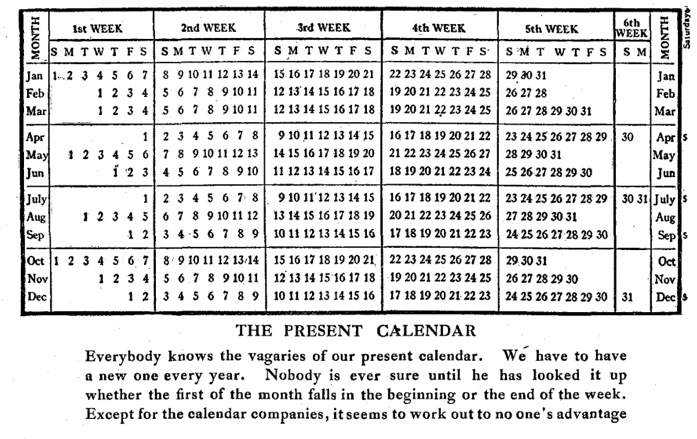 Pope Gregory Calendar By Week Number The Gregorian Calendar Time And Date The Calendar 99 Invisible