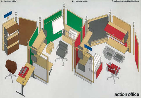 Office Space Time Loop From Open Plans to Cubicle Farms and Back