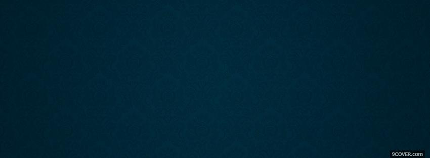 dark blue pattern abstract Photo Facebook Cover
