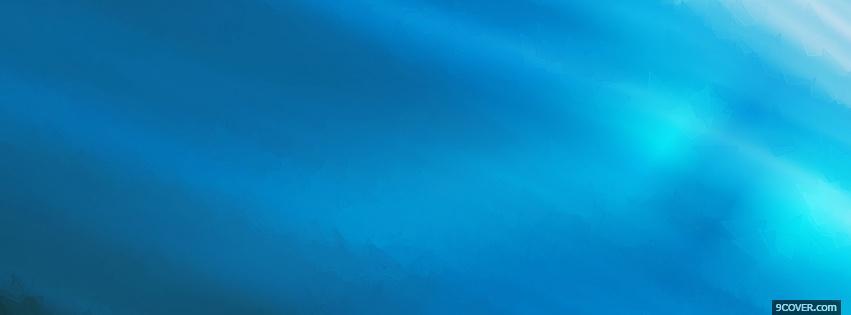 fun blue sky Photo Facebook Cover