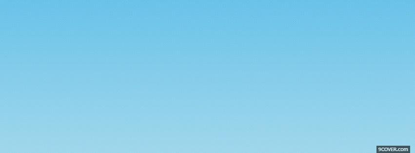abstract gradient blue Photo Facebook Cover
