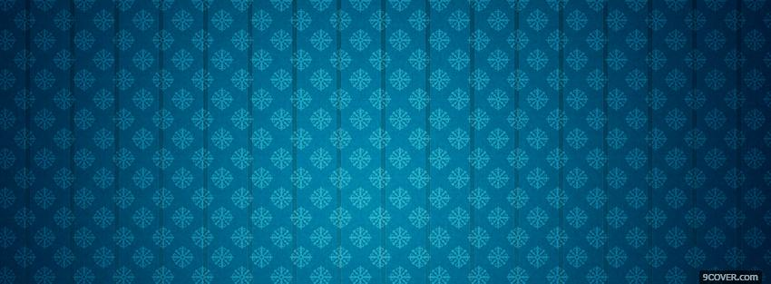 floral blue pattern abstract Photo Facebook Cover