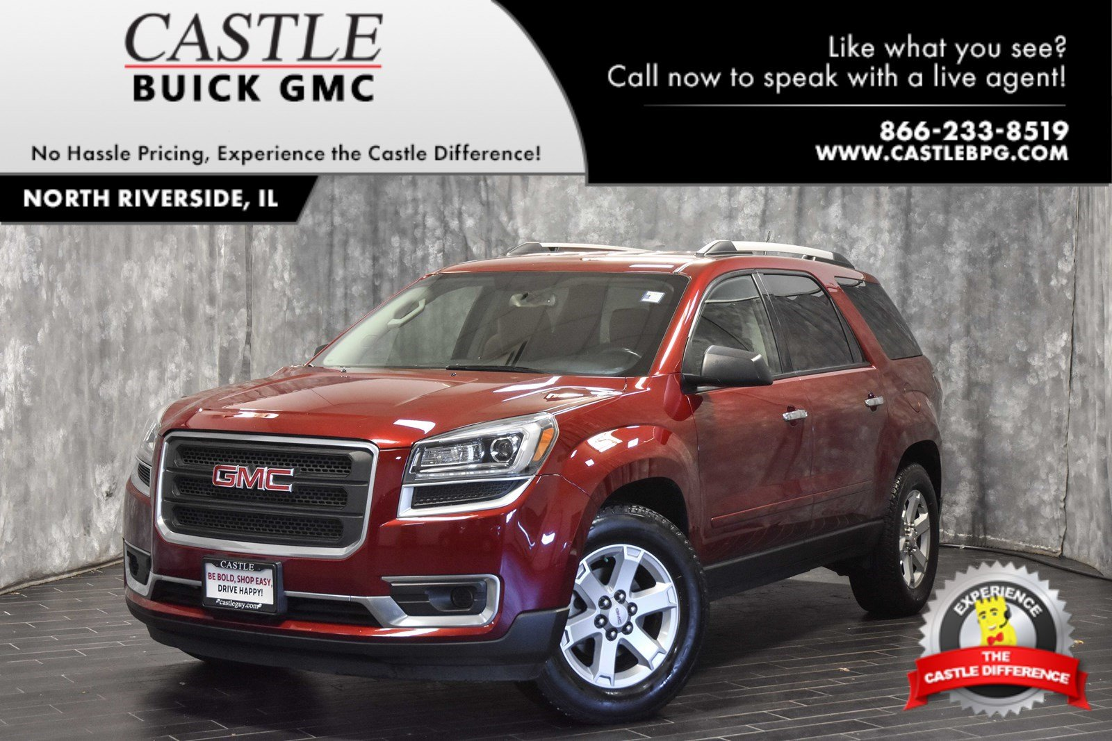 Be To Serien Certified Pre Owned 2016 Gmc Acadia Sle Fwd Sport Utility