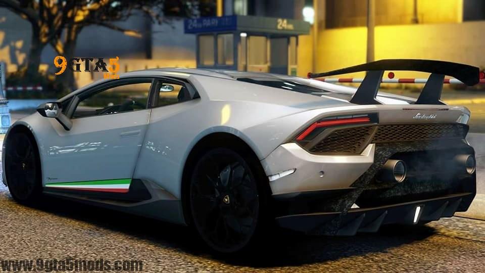 Modified Sports Car Wallpaper Lamborghini Huracan Performante Gta 5 Vehicles