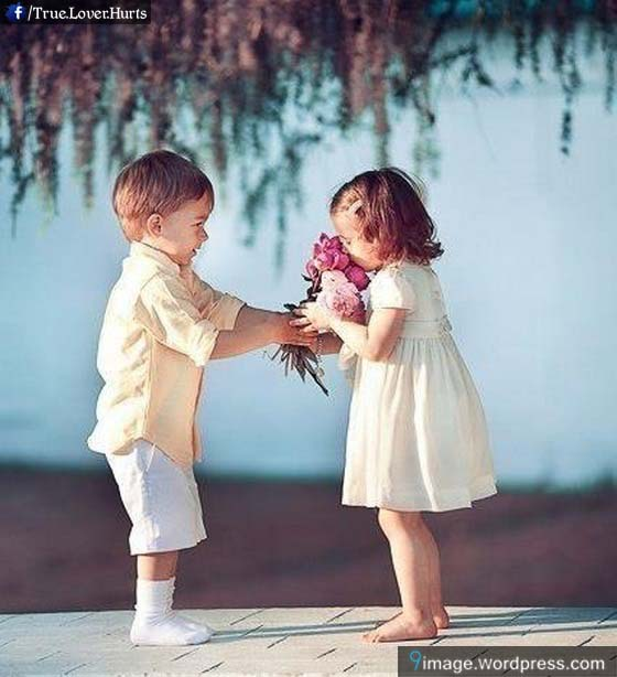 Girl Propose To Boy Wallpaper With Quotes Cute Kids Purpose Flowers Cute Baby Love 9 Images