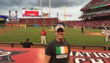 Me at Reds vs. Giants game in May '16