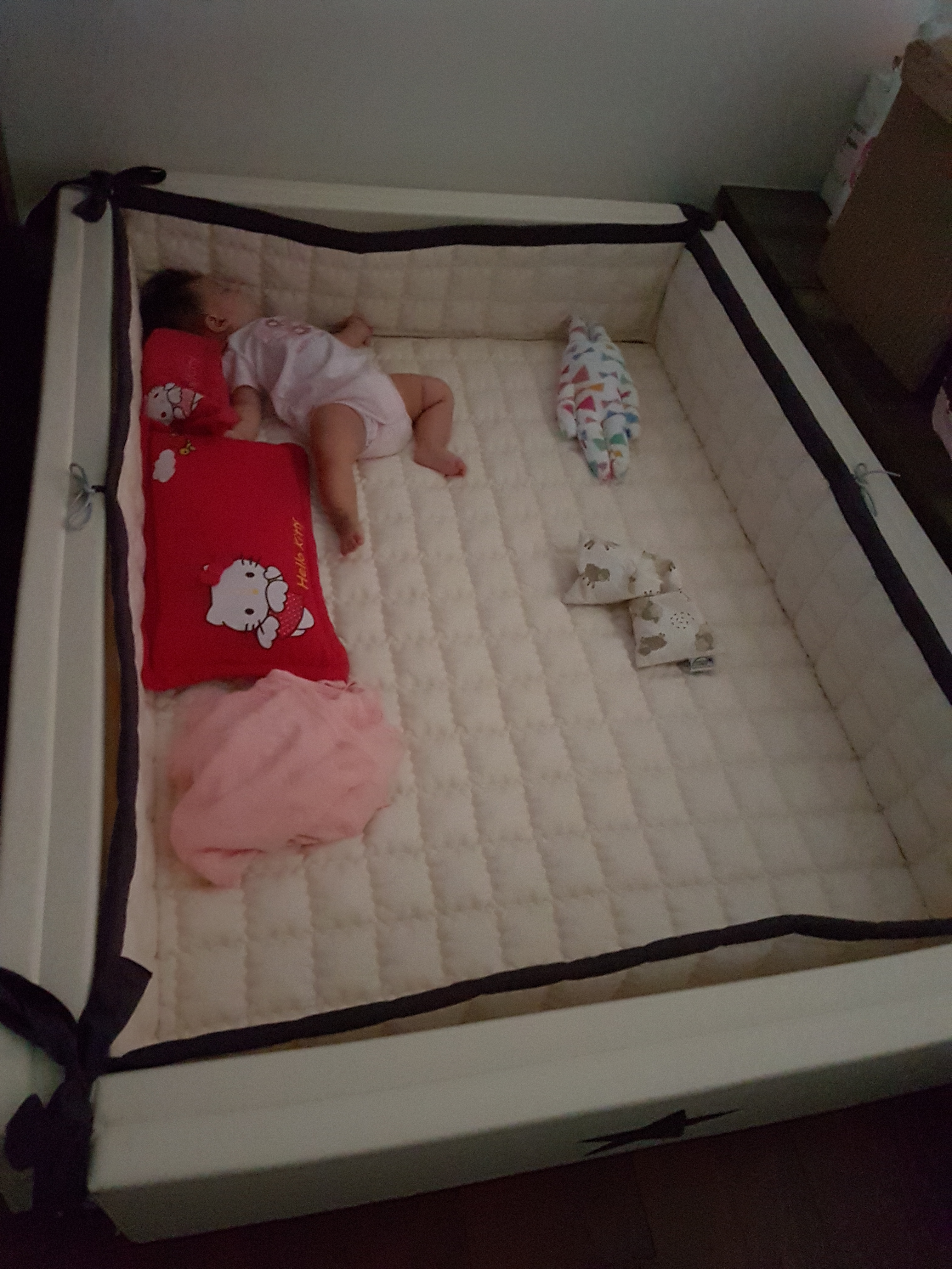 Baby Cots That Attach To Beds Review Ggumbi New Foldable Baby Bumper Bed 9mamas