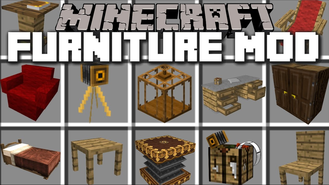 Minecraft Kitchen Mod 1.12.2 Mrcrayfish S Furniture Mod 1 12 2 1 11 2 Best Furniture Mod