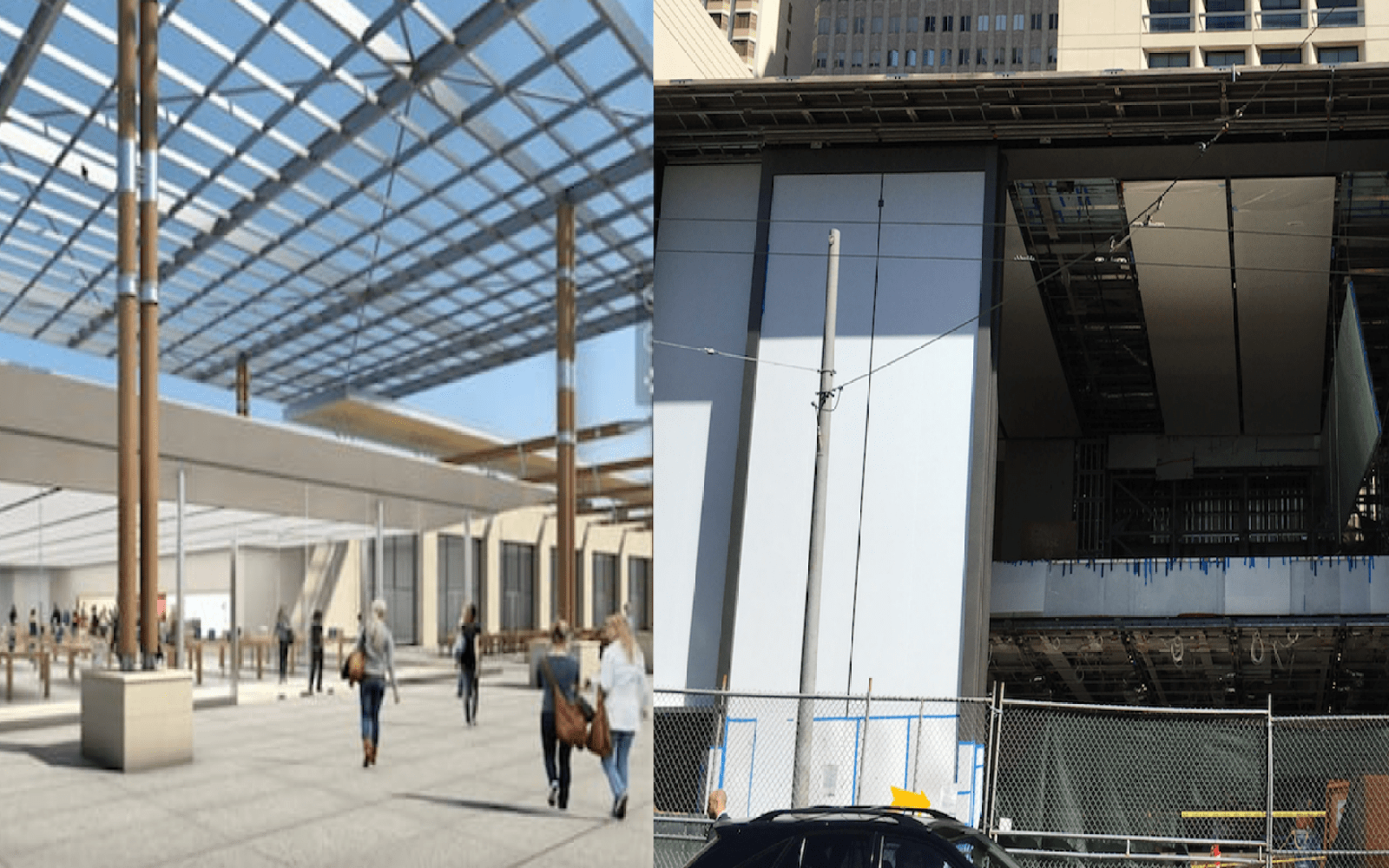 Apple Terrasse Du Port Marseille Apple Store In Marseille France Set To Open May 14 As