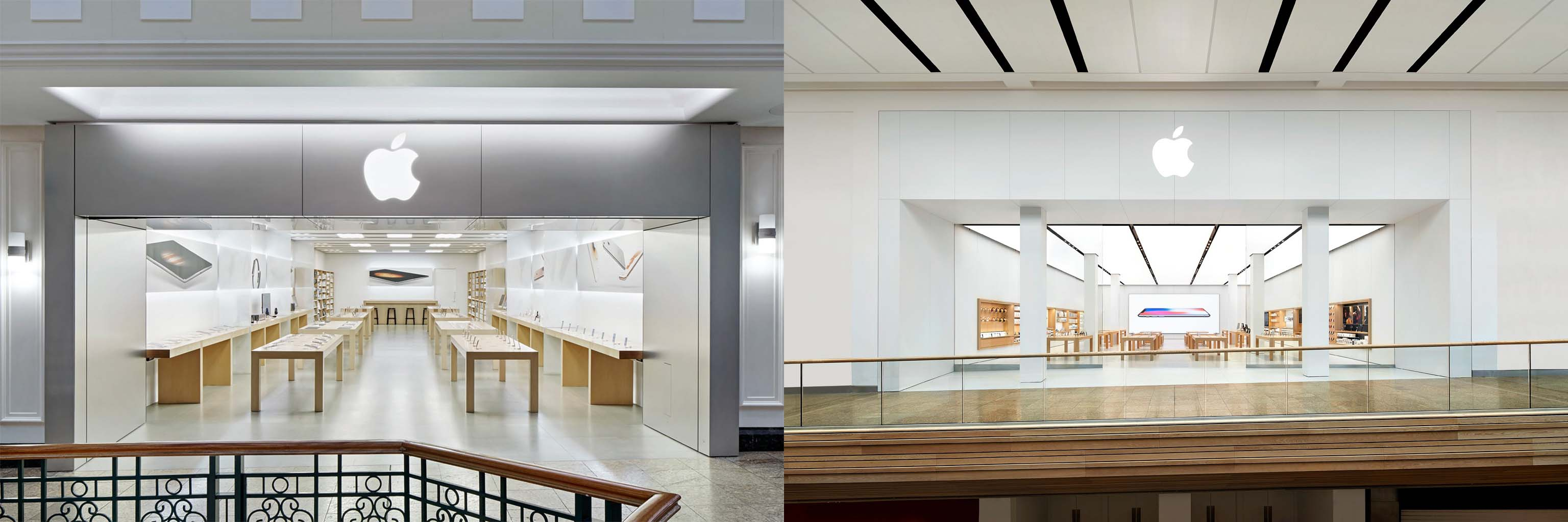 Ceiling Design Retail Apple Retail In 2017 A Look At Every Store Opened Closed