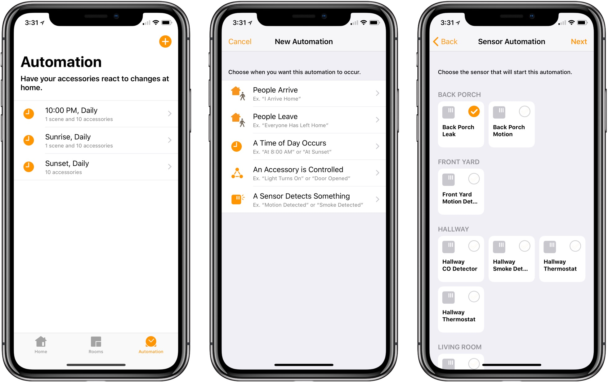 Light Automation Homekit Weekly Using Automation To Put Sensors To Work 9to5mac