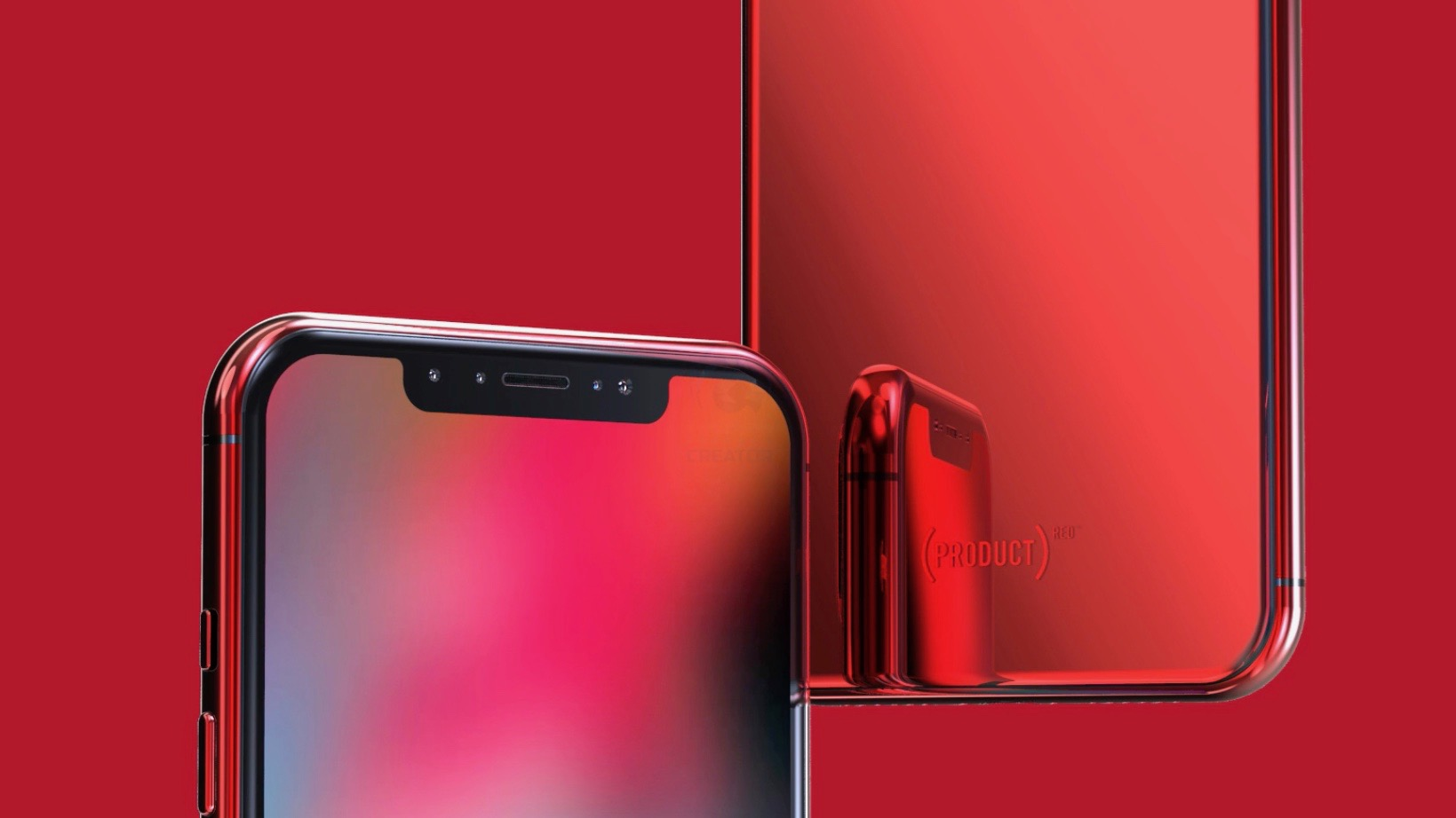 Wallpaper 4k For Phone Iphone X Concept Imagines Product Red Iphone X Amp Iphone X Plus