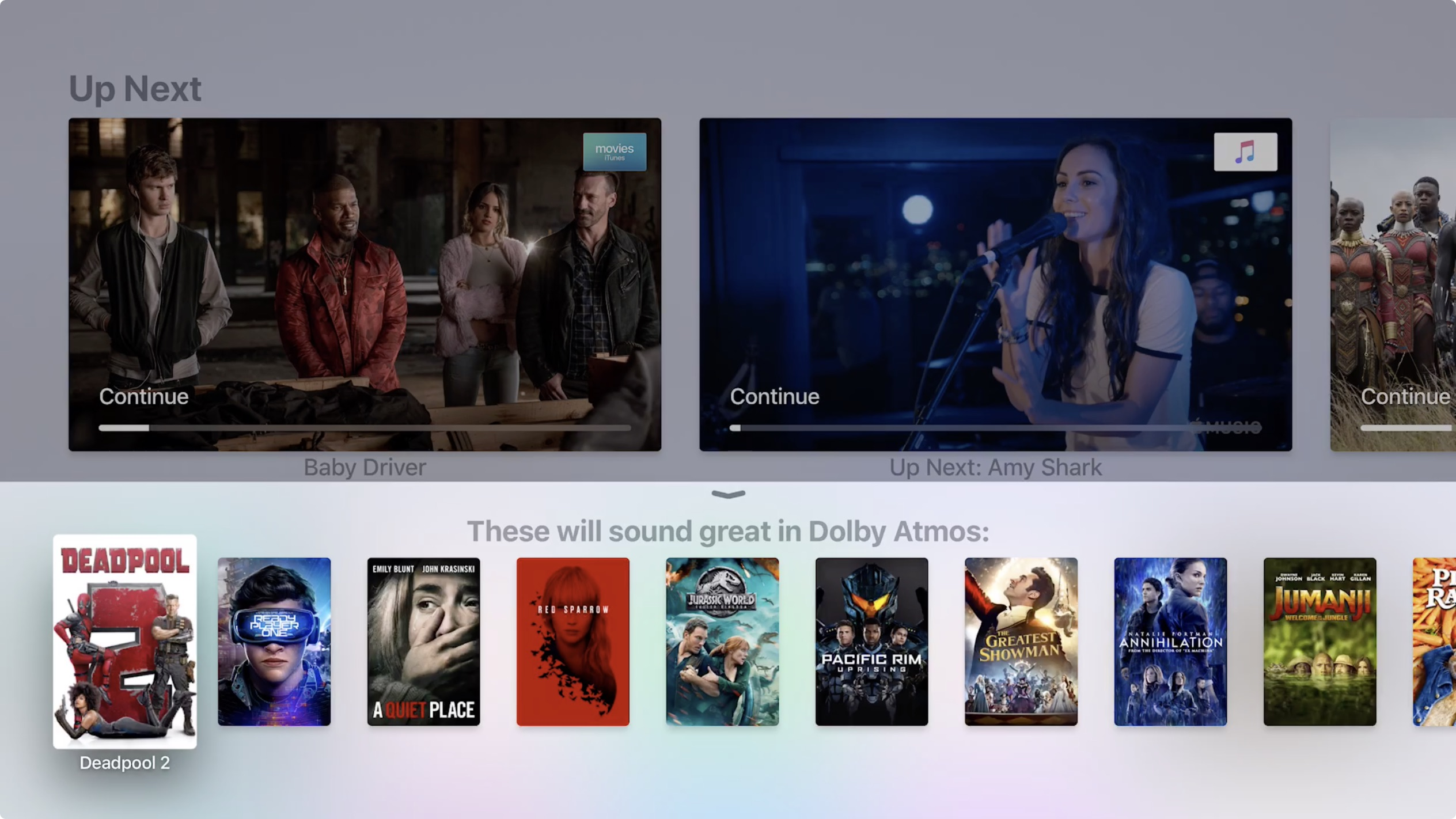 Tv 4 Tvos 12 Now Available For Apple Tv 4 And Apple Tv 4k Brings Dolby