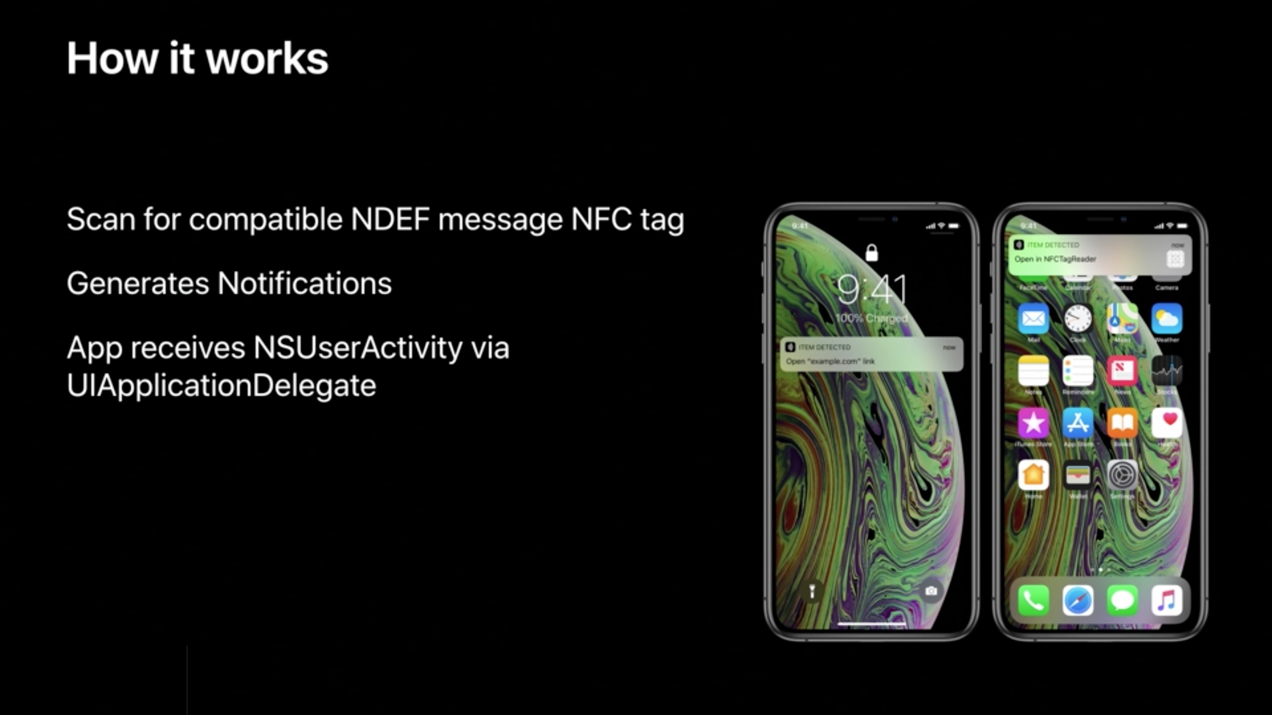 Nfc Tags Iphone Xs And Iphone Xr Can Read Nfc Tags Without Having To Launch
