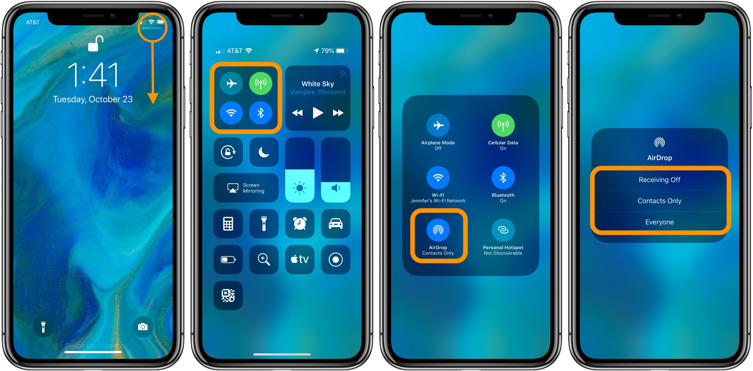 How To Make A Dynamic Wallpaper For Iphone X How To Change Airdrop Settings On Iphone And Ipad 9to5mac