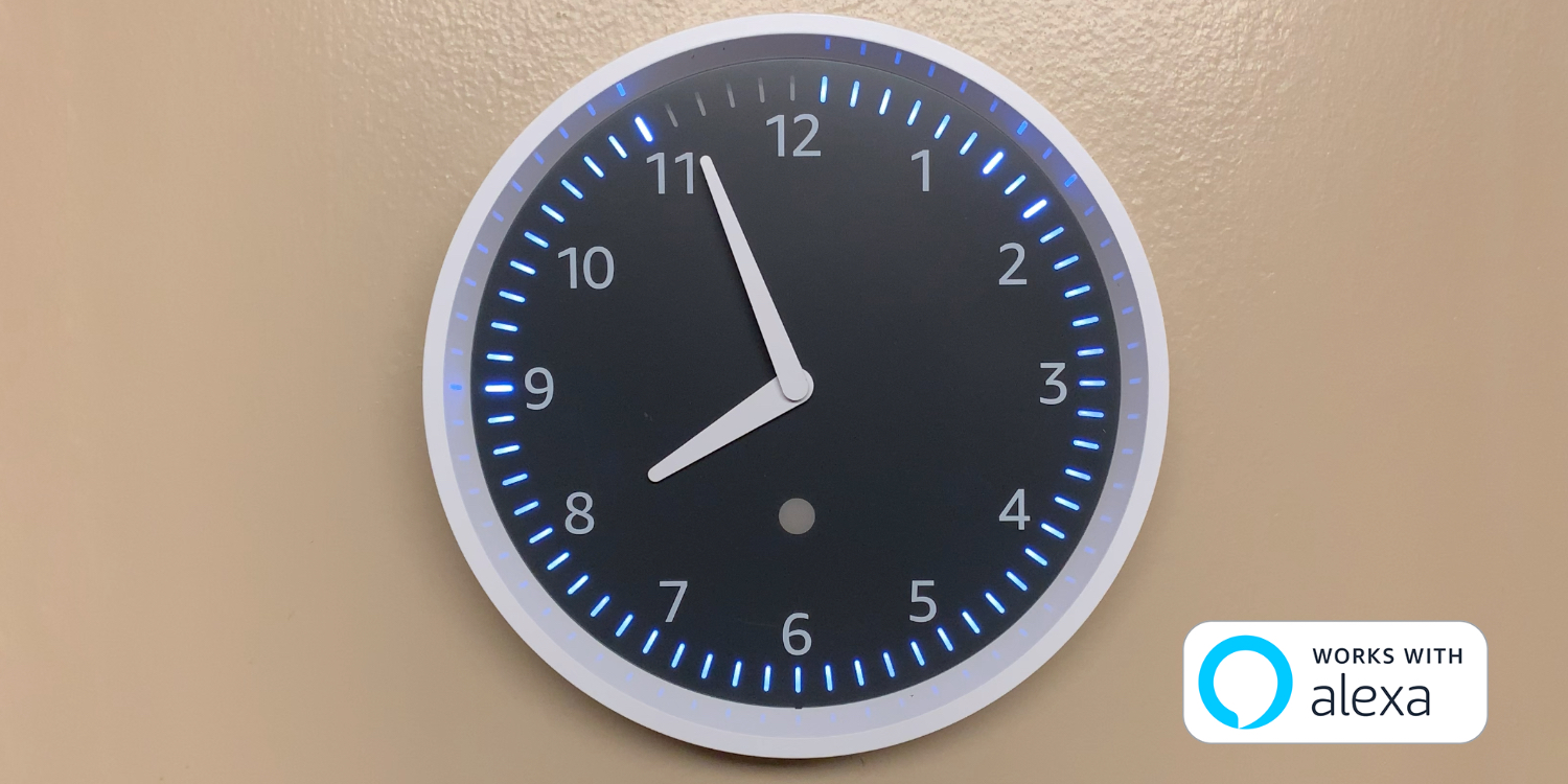???echo Review Amazon S 29 Echo Wall Clock Packs Modern Tricks In