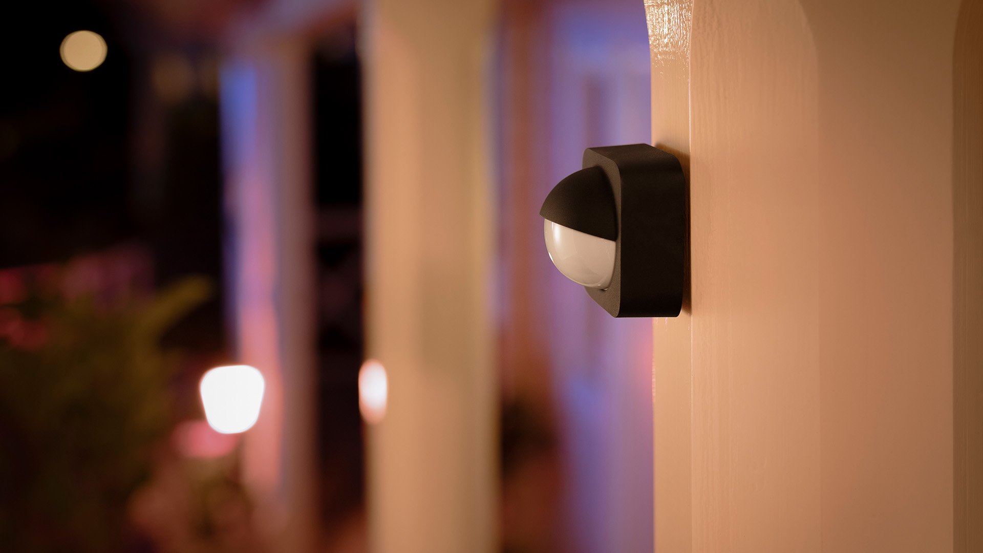 Bright Light Philips Philips Hue Outdoor Line Expands With Motion Sensor New Wall