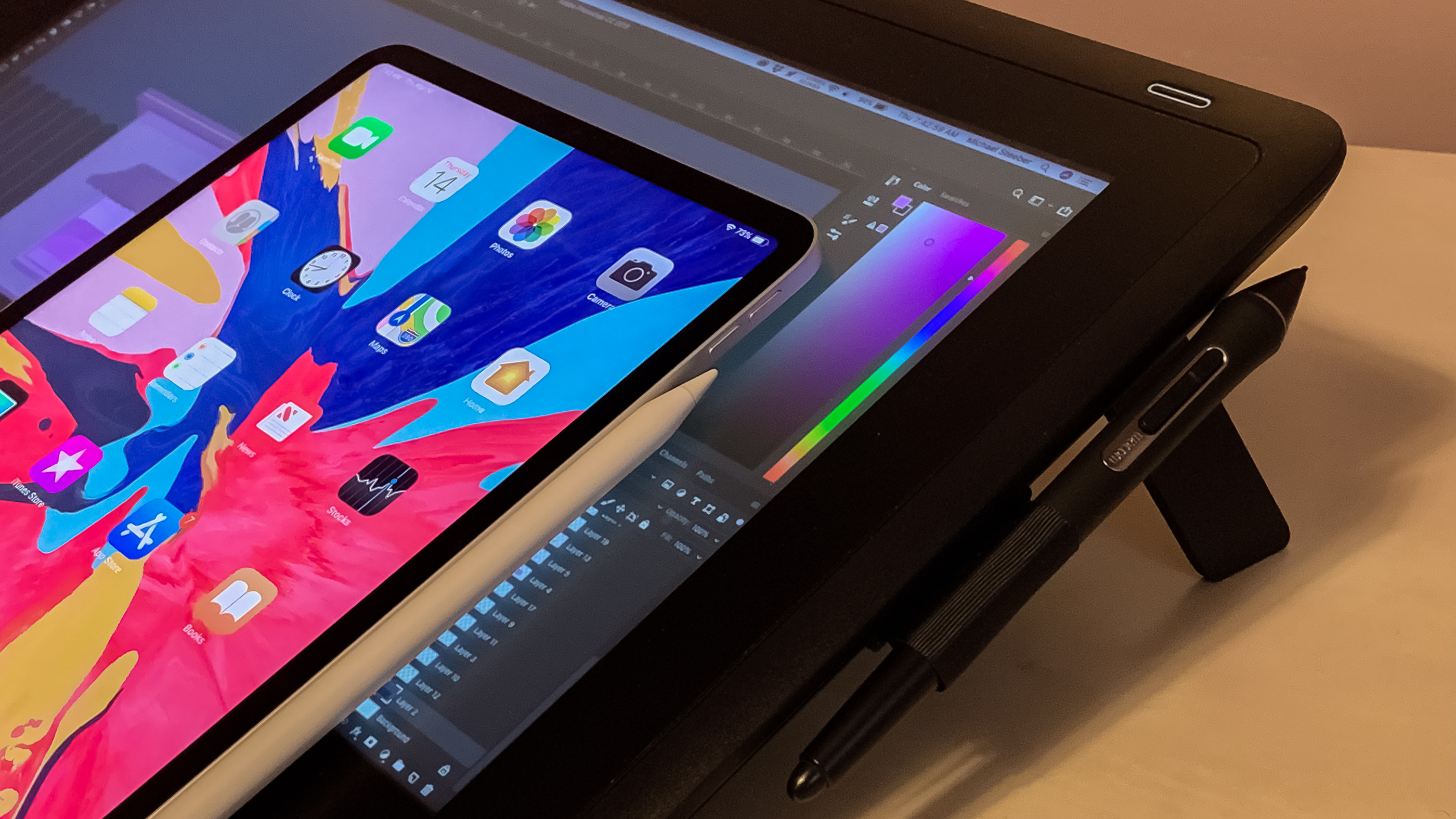 Pro User Hands On Wacom S Cintiq 16 Tablet From The Perspective Of An Ipad
