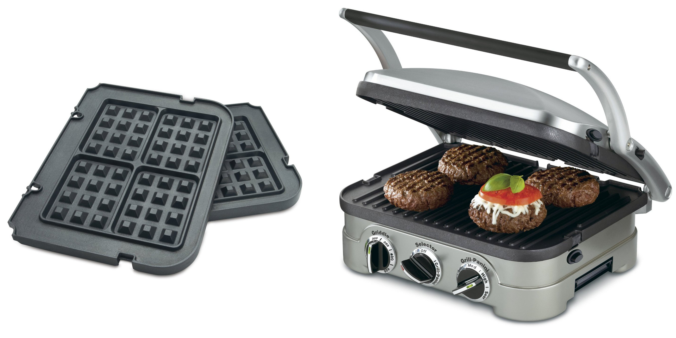 Grille Panini Amazon Is Offering The Cuisinart 5 In 1 Grill Press Waffle