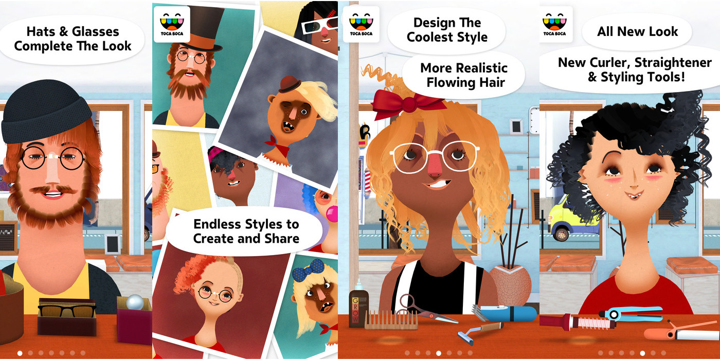 Toca Hair Salon App Store Free App Of The Week Toca Hair Salon 2 Goes Free For