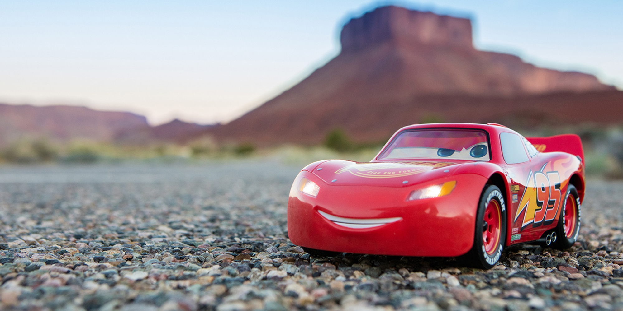 Off Road Lightning Mcqueen Bring Home The Iphone Controlled Sphero Lighting Mcqueen For