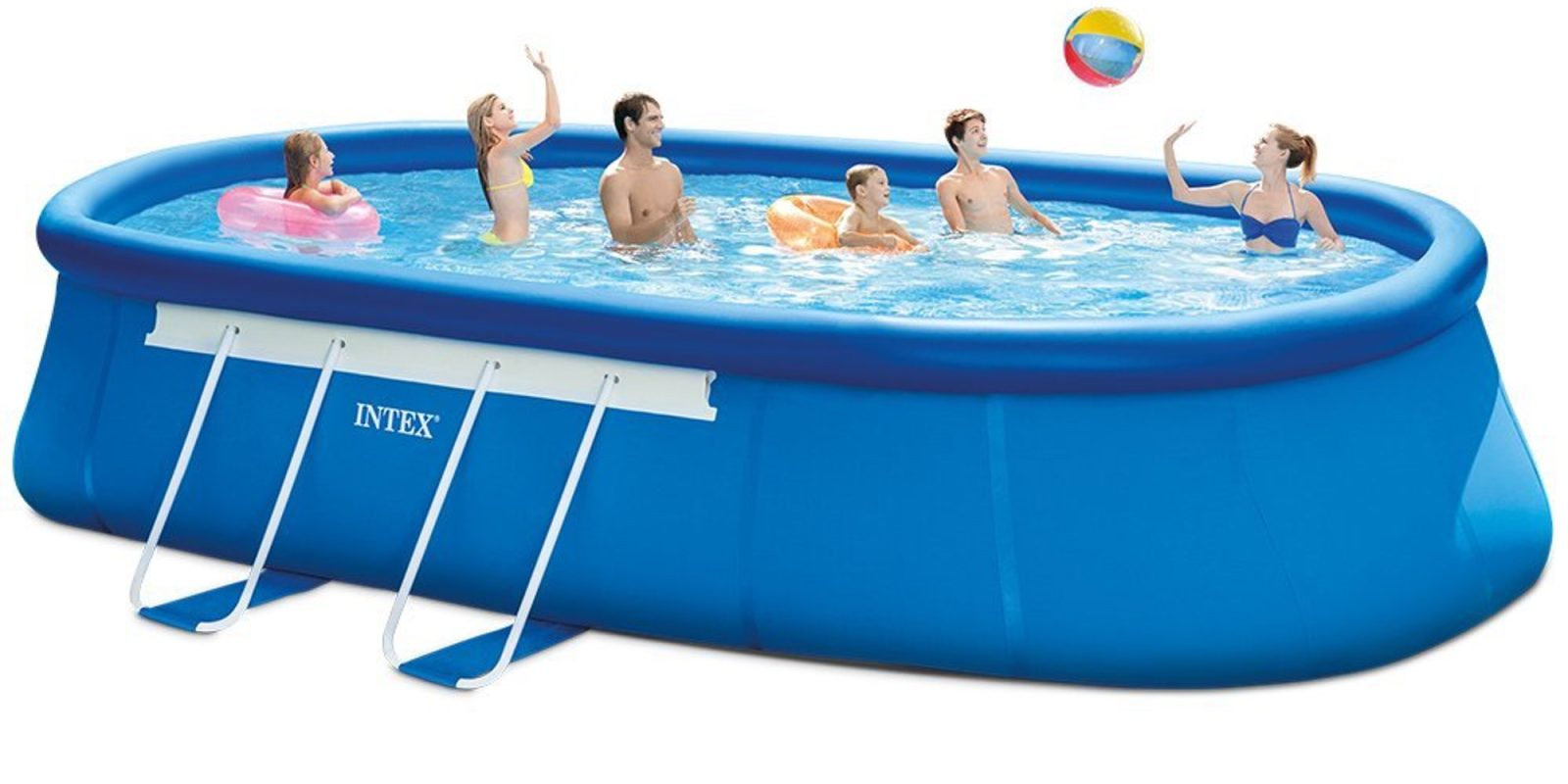 Pool Filterpumpe Betrieb Intex 20ft X 12ft X 48in Oval Frame Pool Set 350 Shipped