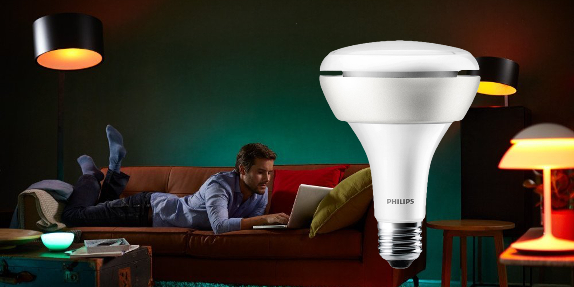 Philips Hue Br30 Philips Hue White And Color Br30 60w Flood Light Drops To 45