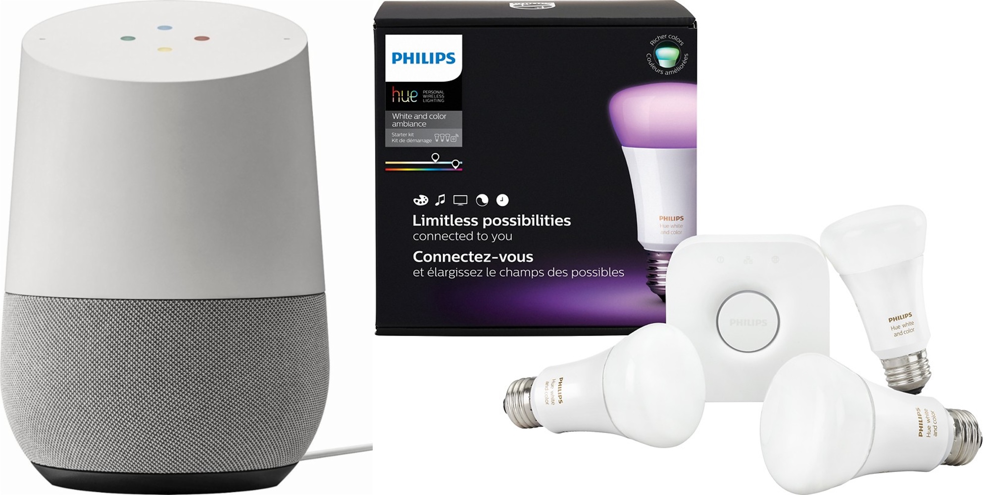 Philips Hue Examples Daily Deals Google Home And Philips Hue Color Starter Kit