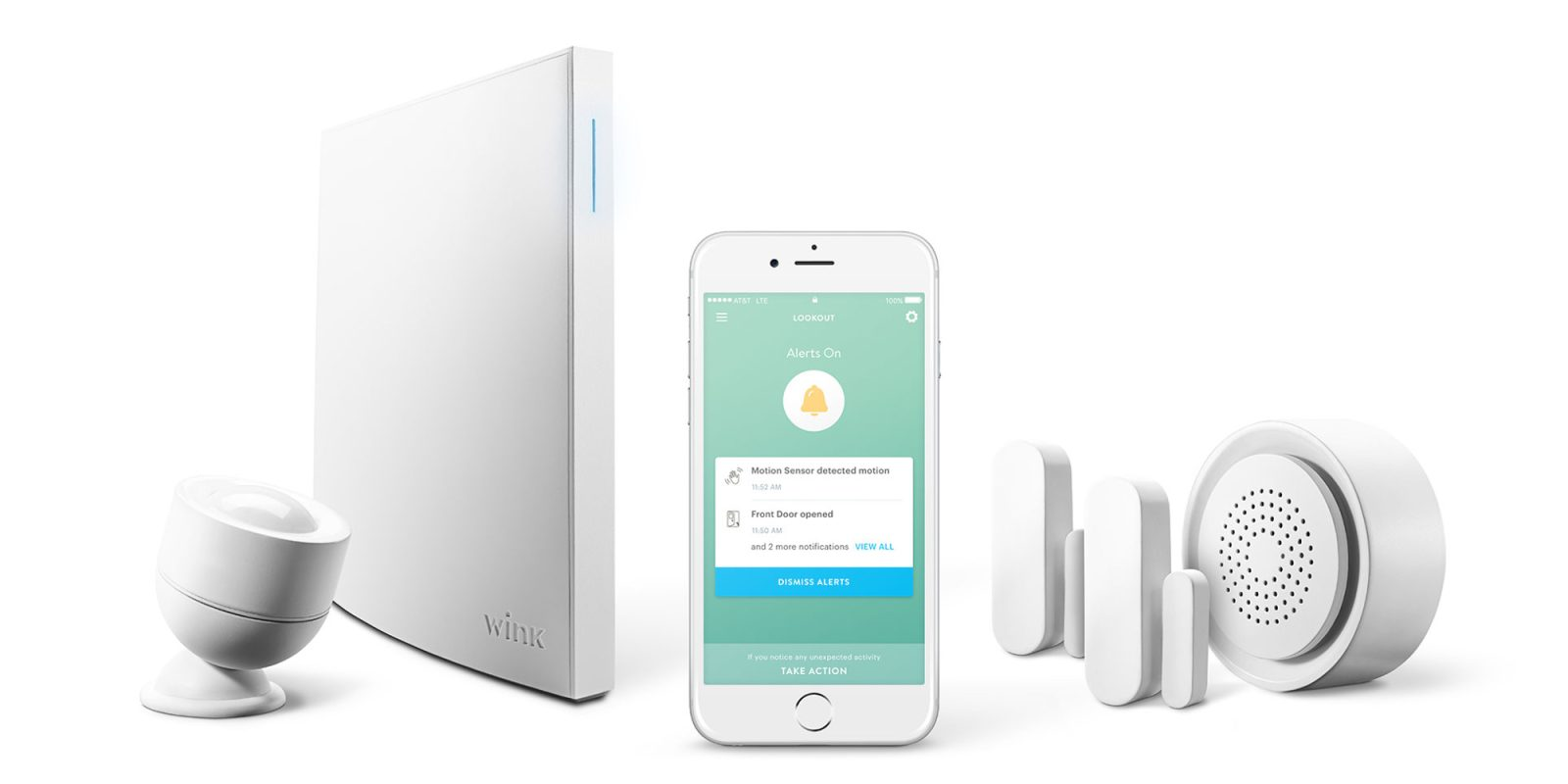 Diy Home Security Devices Wink Unveils Lookout Its New Competitively Priced Diy