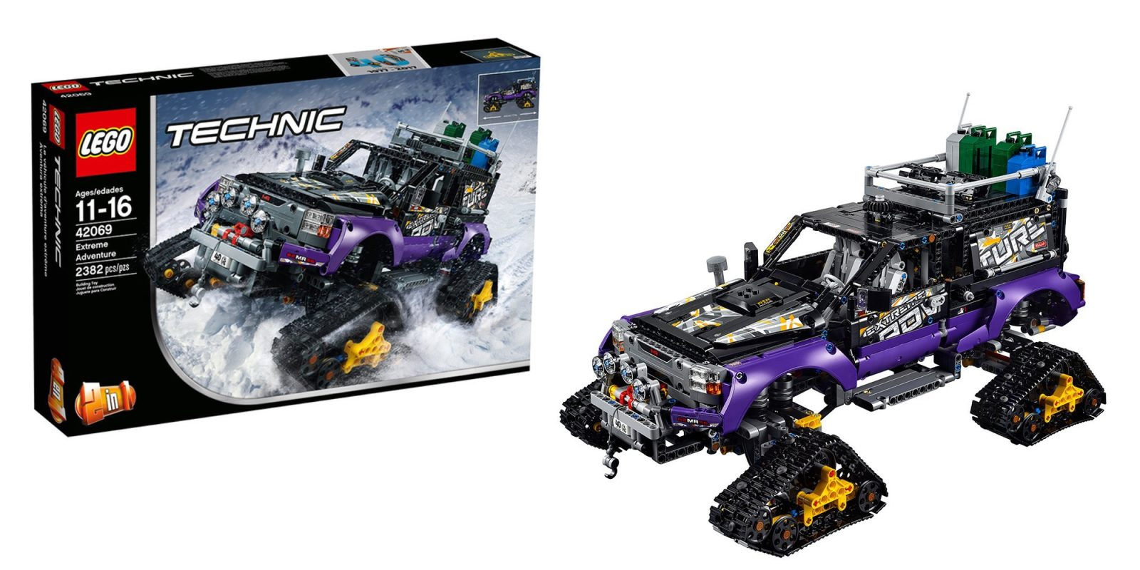 Lego Technic Extreme Adventure Kit Gets First Discount To