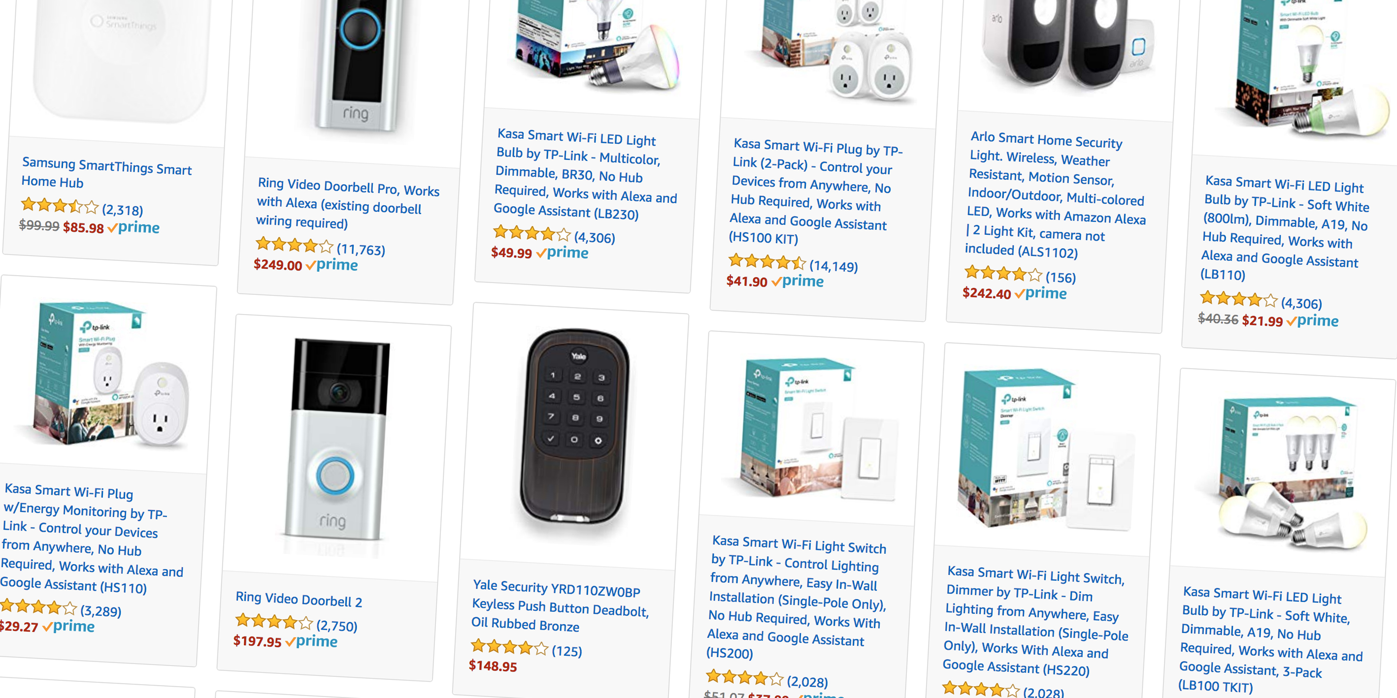 Amazon Smart Home Amazon Takes 20 Off Popular Smart Home Accessories For Alexa