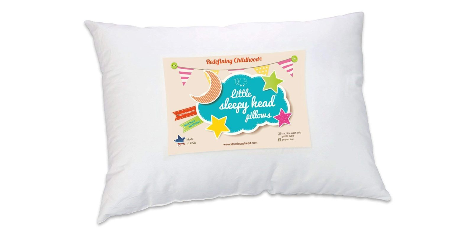 This Hypoallergenic Toddler Pillow Has Stellar Ratings At