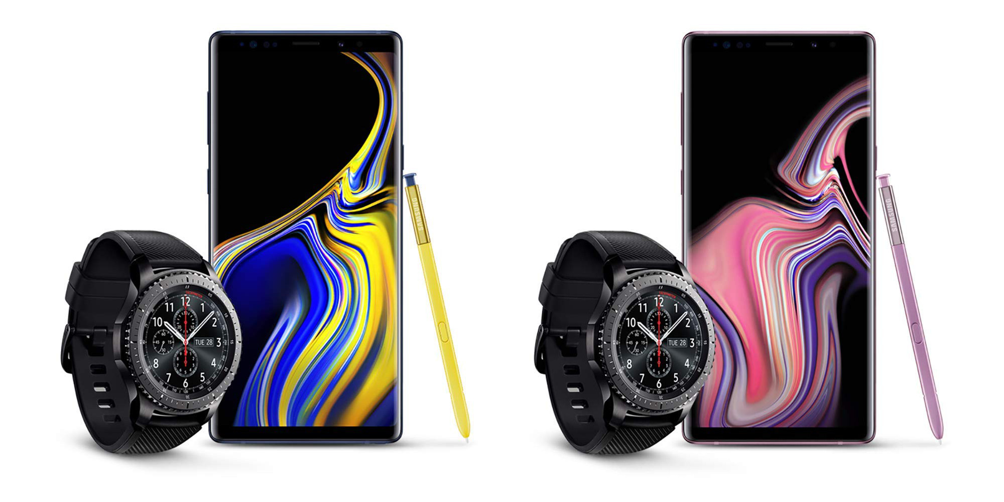 Samsung 512gb Galaxy Note9 Free S3 Frontier Smartwatch