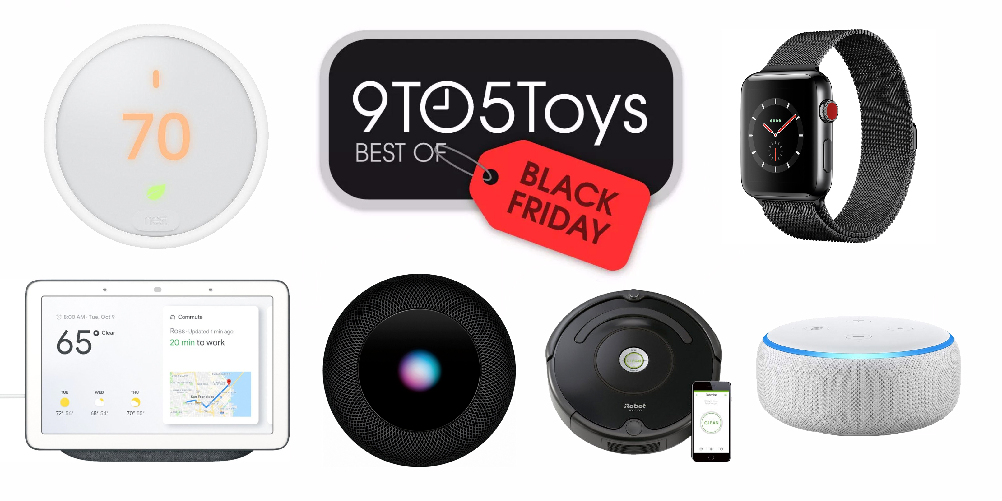 Black Friday Top Deals The Best Black Friday Deals Tvs Apple Smart Home More 9to5toys