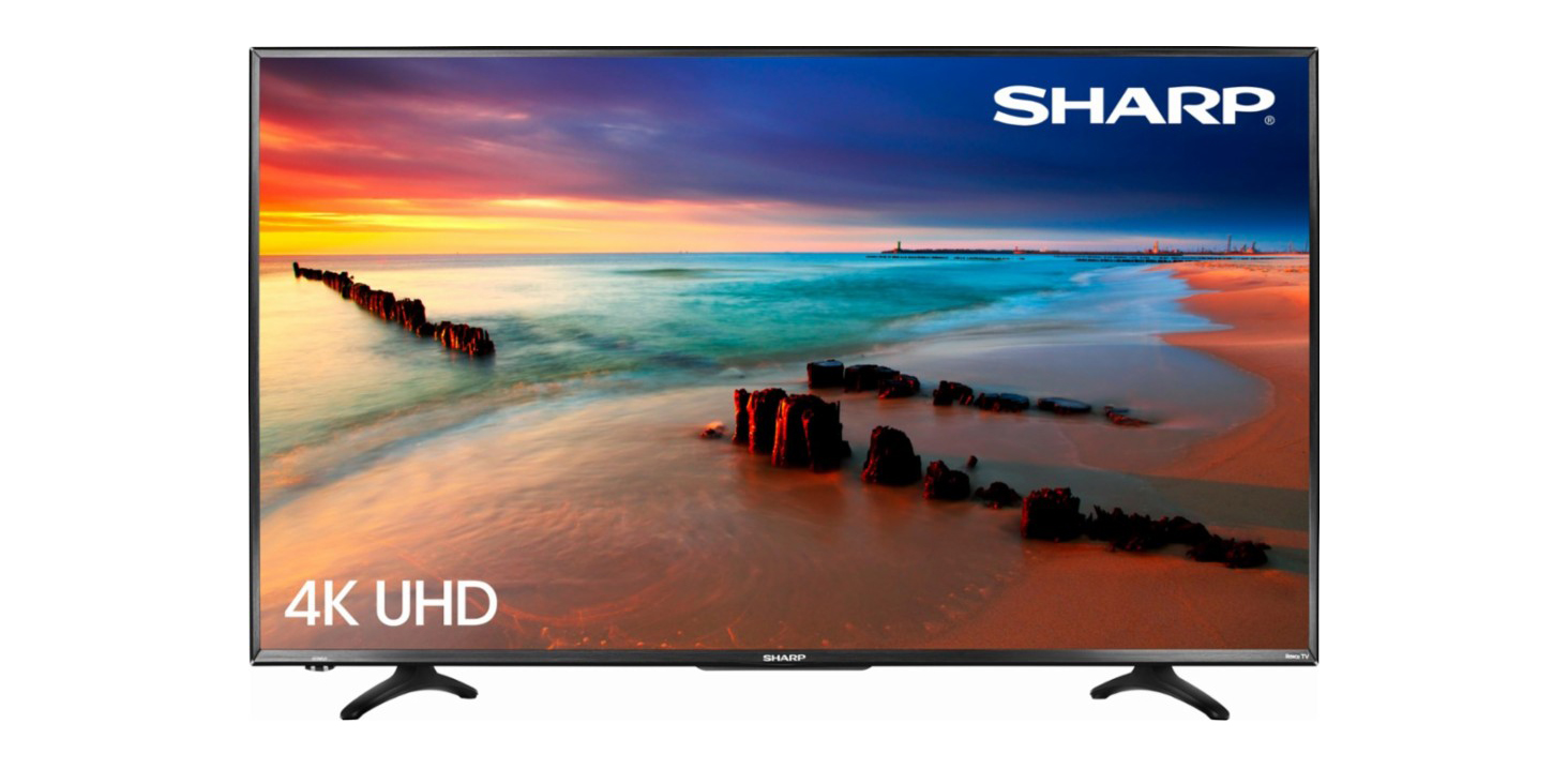 43 Inch Tv Best Buy Will Sell You A Sharp 43 Inch 4k Hdr Tv With Roku Built