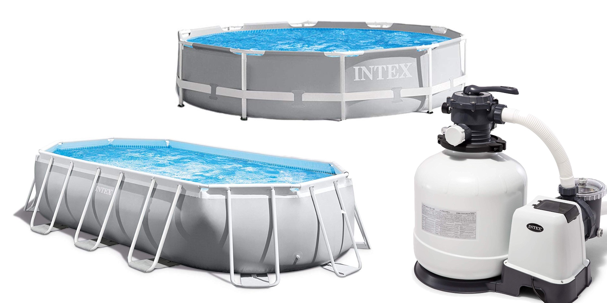 Filterpumpe Pool Amazon Save 25 Or More On Intex Above Ground Pools And Accessories From