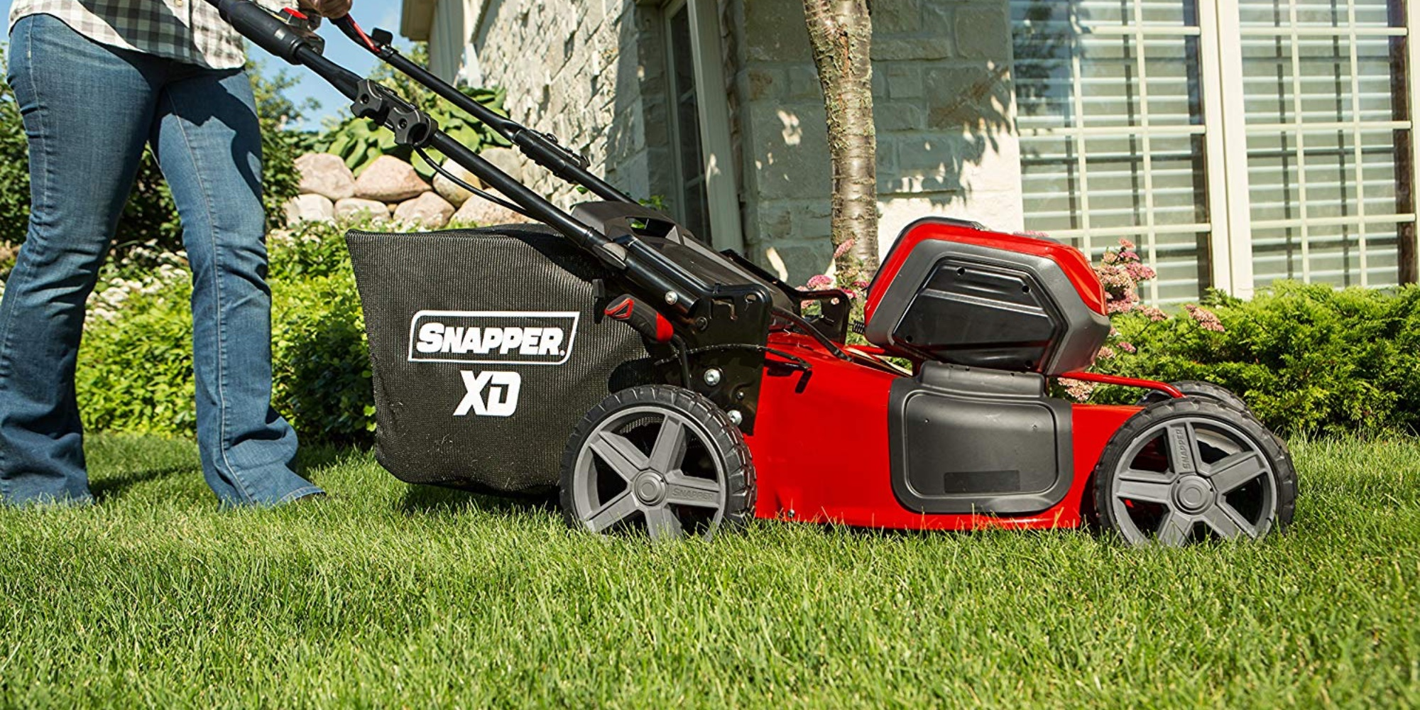 Electric Lawn Mower Sale Amazon Is Taking 20 Off A Selection Of Electric Snapper Yard