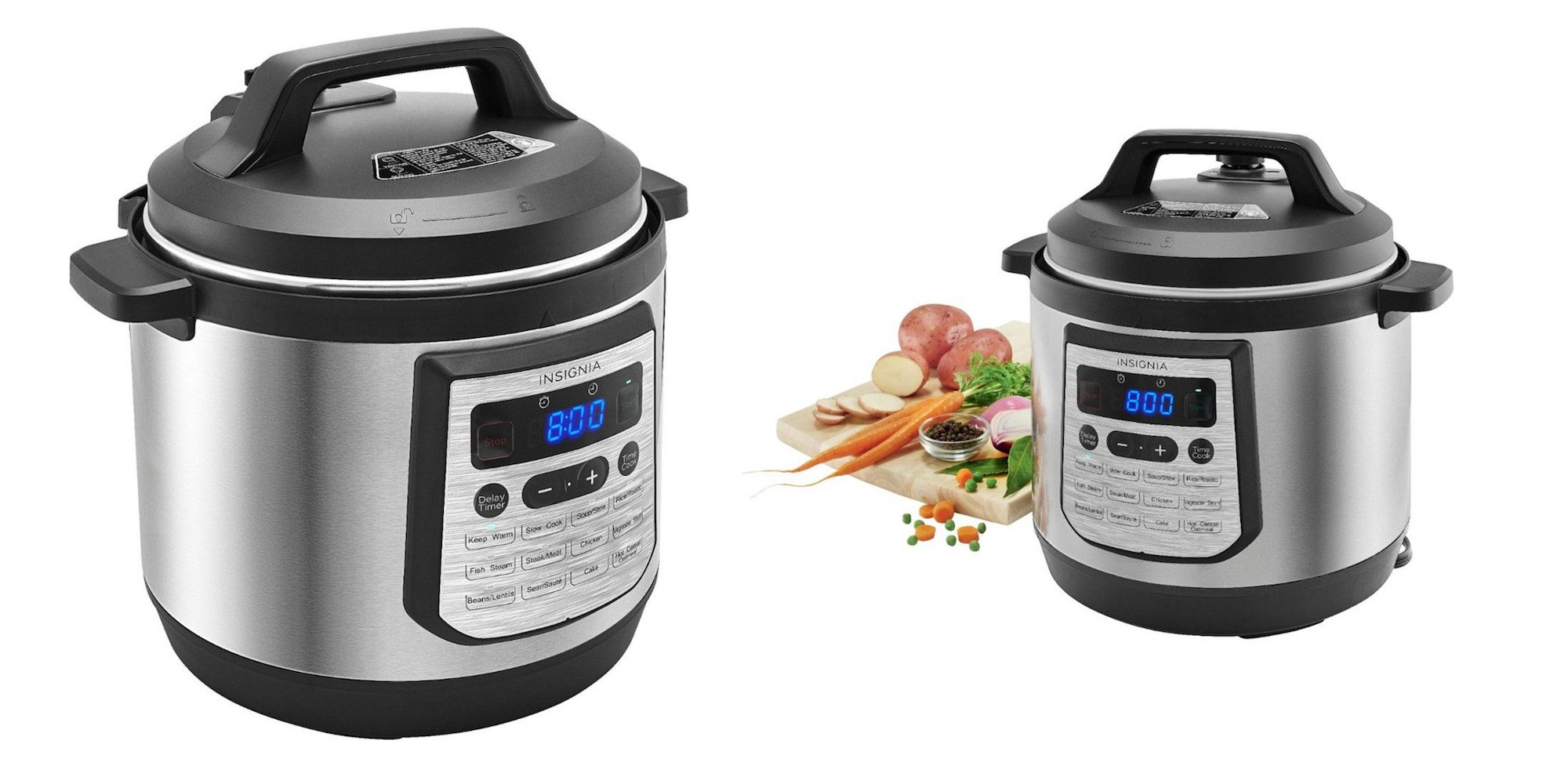 Big W Pressure Cooker Insignia S Big Boy 8 Quart Multi Function Pressure Cooker Is Just